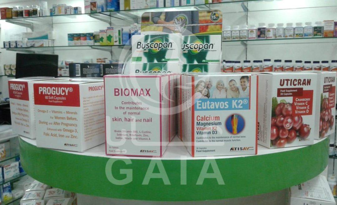Biomax, Uticran, Progucy and Eutavos K2 Available in UAE.
