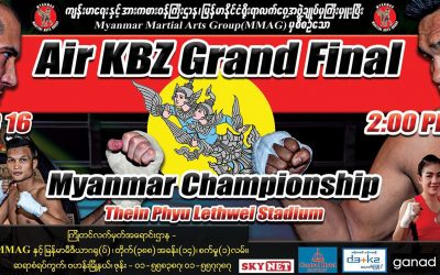 Atisav Pharma D3+K2 Sponsor Myanmar Traditional Boxing Match.